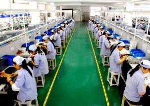 工厂生产流水线