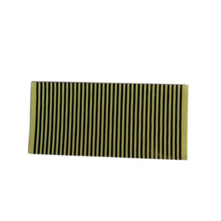 黄胶热压导电斑马纸