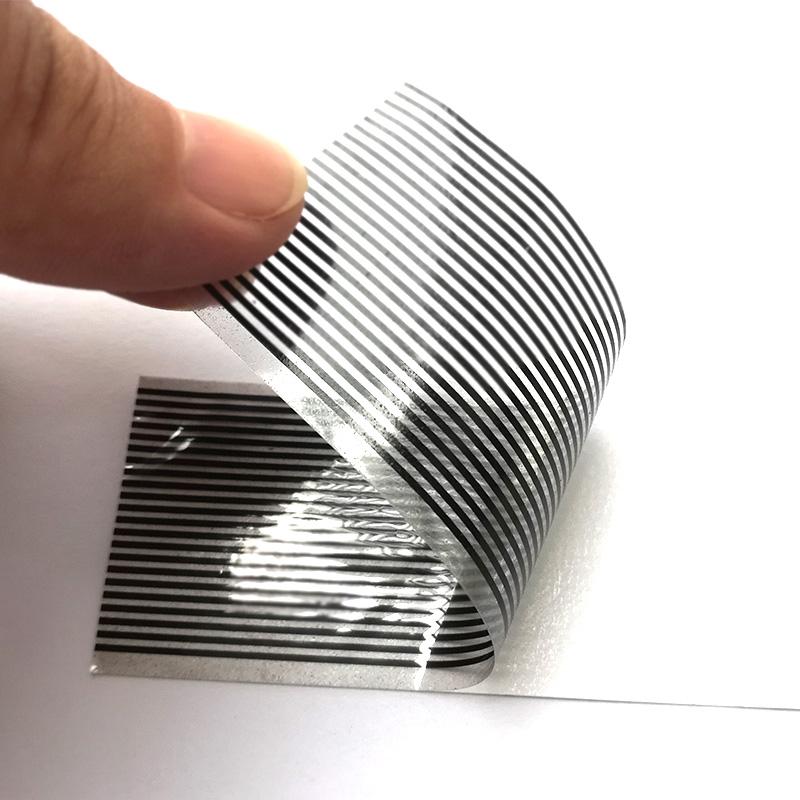 白胶热压导电斑马纸
